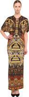 Just Cavalli Mandala Print Gown