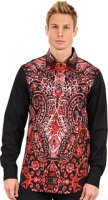 Just Cavalli Paisley Front Shirt
