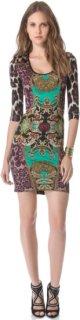 Just Cavalli Print Jersey Dress