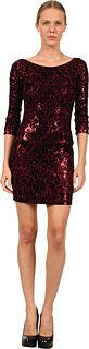 Just Cavalli S04CT0171N20522 Sequin Flocked Dress
