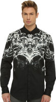 Just Cavalli Shirt with Scroll Shoulder