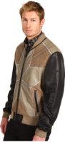 Just Cavalli Star Leather Jacket