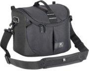 Kata Lite-443 DL Shoulder Bag for Pro DSLR with Zoom in Shooting Position or Camcorder