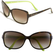 ee496ed13947 Kate Spade New York ailey 58mm two tone sunglasses Tortoise Kiwi One Size