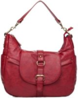 Kelly Moore B-Hobo-I Shoulder Style Small Camera Bag - Red - w/o Removable Basket