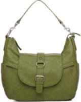 Kelly Moore B-Hobo-I Shoulder Style Small Camera Bag with Removable Basket - Grassy Green