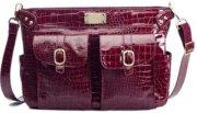 Kelly Moore Classic Camera Bag - Cranberry Croc