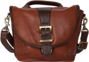 Kelly Moore Riva Shoulder Bag - Saddle (Brown)