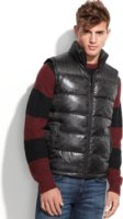 Kenneth Cole New York Camo Print Puffer Vest