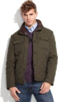 Kenneth Cole New York Diamond Quilted Jacket