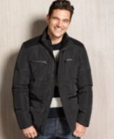 Kenneth Cole New York Four-Pocket Down Coat