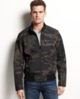 Kenneth Cole Reaction Kenneth Cole Camo Bomber