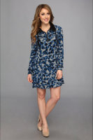 Kensie Camo Dot Dress