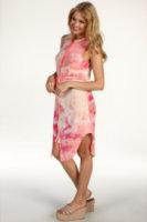 Kensie Sleeveless Tie-Dye Dress