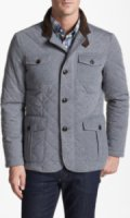 KENT & CURWEN Michaels Quilted Water Repellent Paddock Jacket Large