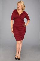 Kiyonna Betsey Ruched Dress