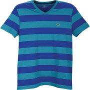 Lacoste V-Neck Stripe S/S T-Shirt
