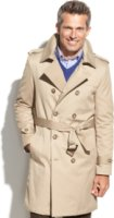 LAUREN Ralph Lauren Kingston Belted Trench Raincoat