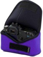 LensCoat BodyBag Neoprene Velcro Closure Purple