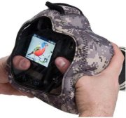 LensCoat Soft Neoprene BodyGuard Pro CB (Clear Back) for Pro SLR & Semi Pro SLR Cameras with Optional Grips Attached - Army Digital Camo (dc)