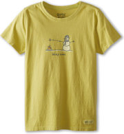 Life Is Good Crusher Tee Stay Cool Snowman