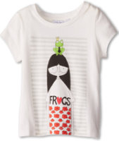 Little Marc Jacobs Jersey MS Marc Printed S/S Tee