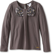 Little Marc Jacobs L/S Top With Sequin Bow