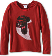 Little Marc Jacobs Mouse in a Chapka Printed Tee