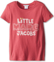 Little Marc Jacobs Printed S/S Tee With Lurex Side Seam