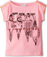 Little Marc Jacobs Reverse Stitch Parrot Print Tee