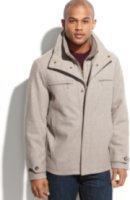London Fog Alanson Bib Insert Wool-Blend Jacket
