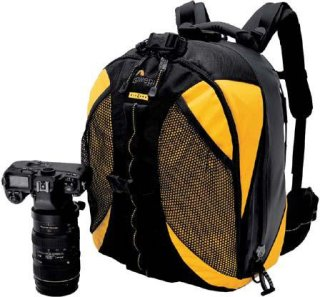 Lowepro DryZone 200 Backpack Waterproof Camera Bag Yellow / Black.