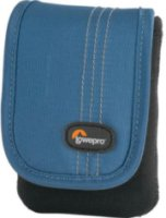 Lowepro Dublin 10 Camera Pouch for Ultra-Compact Point/Shoot Camera /Camcorder Black/Arctic Blue