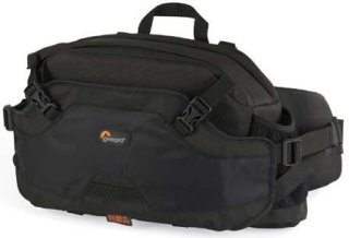 Lowepro Inverse 200AW Beltpack Camera Case All Weather Cover Black
