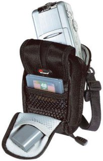 Lowepro Rezo 50 Medium Pouch for Digital or 35mm Point-n-Shoot Cameras Black