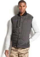 LRG Rugged Maple Puffer Vest
