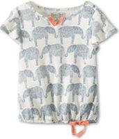 Lucky Brand A/O Elephant Print Top