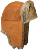 88ae089a9da Mad Bomber Leather Aviator Hat (and)