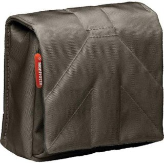 Manfrotto Stile MBSCP-4BC Nano IV Camera Pouch for Point and Shoot Digital Camera Brown