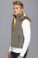 Marc Ecko Cut & Sew Natural Astetic Vest