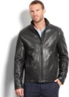 Marc New York Nelson Lamb Leather Jacket