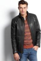 Marc New York Neptune Rugged Lamb Leather Jacket