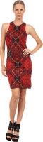 McQ by Alexander McQueen Sleeveless Tartan Dress