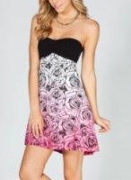 Metal Mulisha Petals Tube Dress