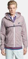 Michael Bastian Lightweight Microcheck Hooded Jacket 50 EU