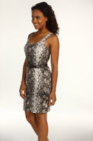 Michael Kors Python Tank Sheath Dress
