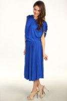 Michael Kors Tie Shirred Dress