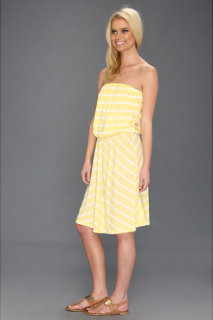 Michael Stars Hampton Stripe Strapless Dress