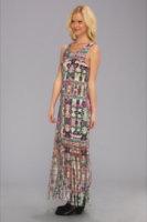 Mink Pink Ashram Fringed Maxi Dress