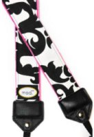 Mod Black and Pink Damask Strap with Quick Release